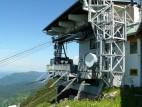 Bergstation der Tegelbergbahn