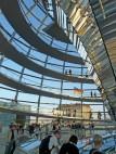 Die Reichstagskuppel von innen