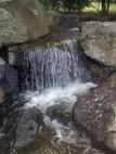 Wasserfall im japansiche Garten
